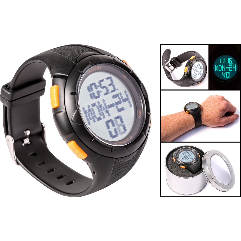 Scruffs Activity Tracker Work Watch