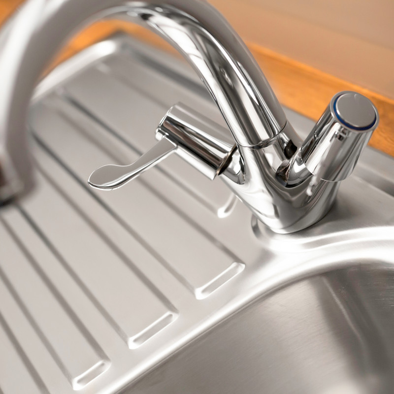 Contract Lever Mono Mixer Kitchen Tap