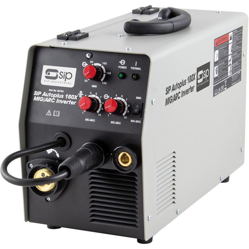 SIP 180 MIG/ARC 16A Inverter Welder with Cart