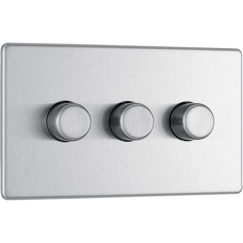 Triple Dimmer Light Switch Home Safe