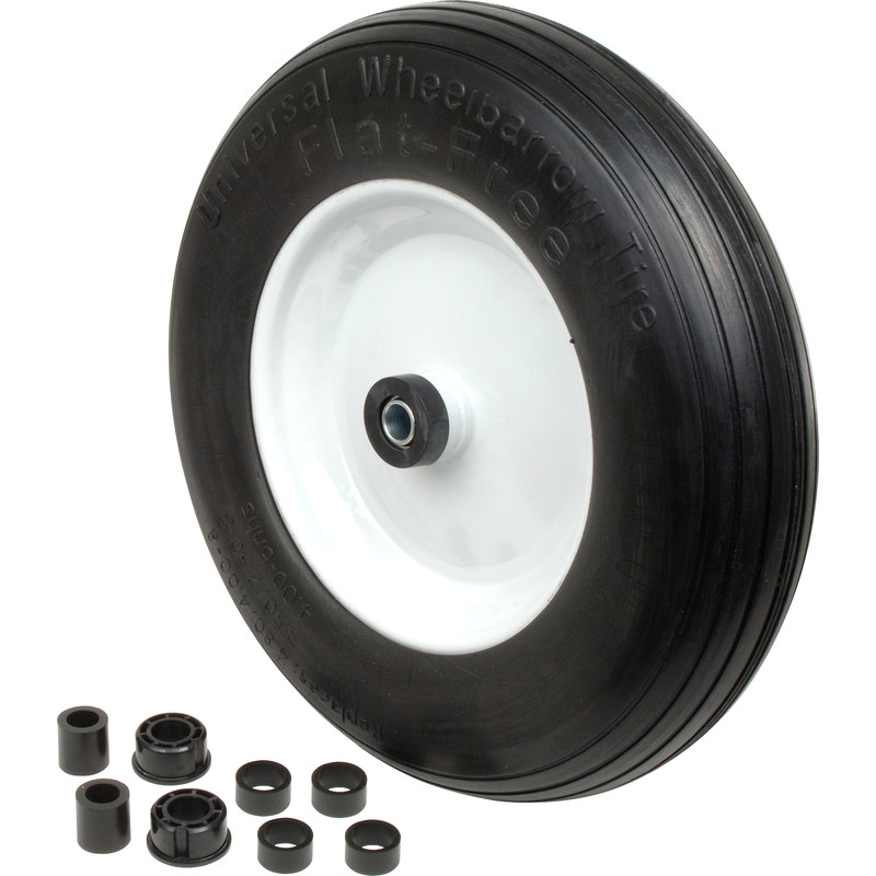 Flat Free Solid Wheel