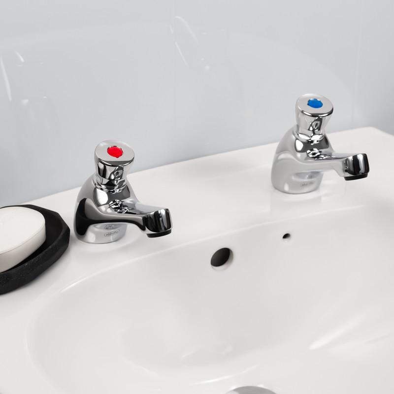 Non Concussive Basin Taps