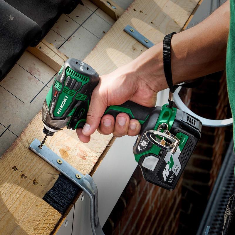 Hikoki 36V Brushless MultiVolt Triple Hammer Impact Driver