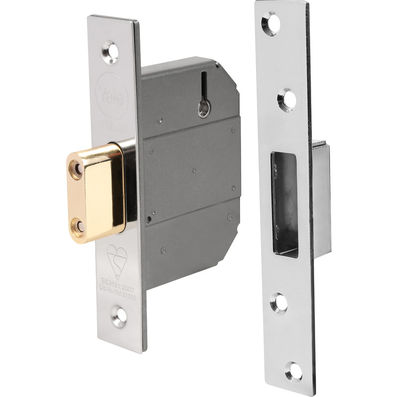 BS 5 Lever Mortice Deadlock