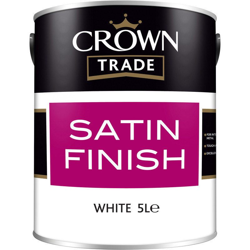 Crown Trade Satin Paint 5L