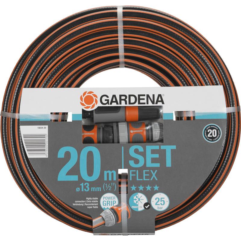 """Gardena Comfort Flex Hose Set (1/2"""")"""