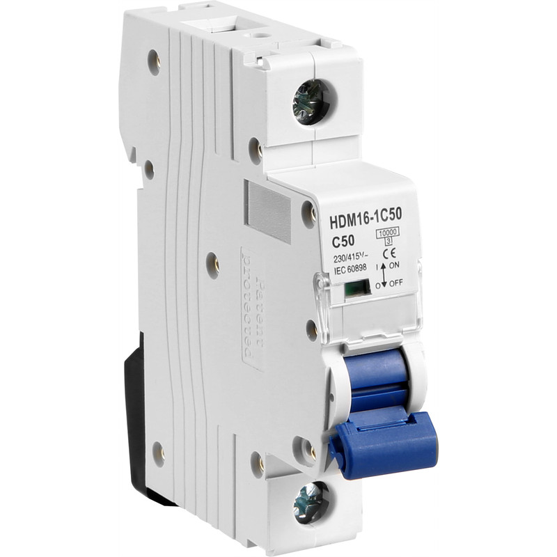 Protek  Single  Pole MCB  10kA Type C