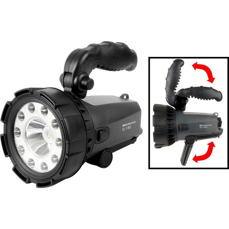Nightsearcher LED NSS180 Rechargeable Searchlight Torch