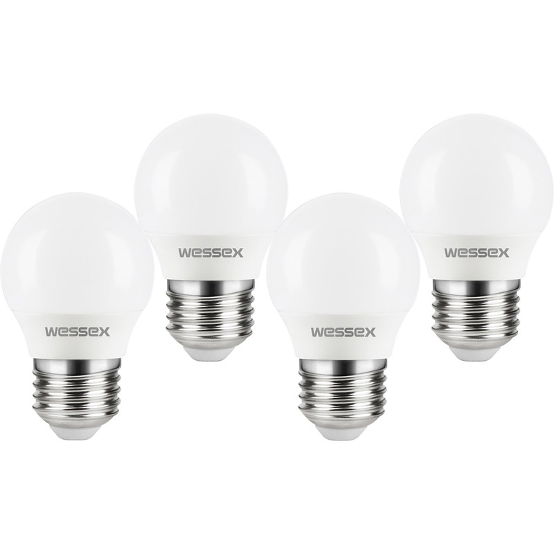 Wessex LED Frosted Dimmable Mini Globe Bulb Lamp