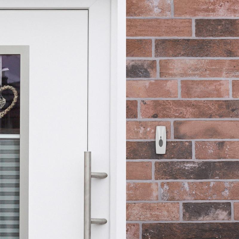 Byron Sentry Wireless Plug In Door Chime Kit