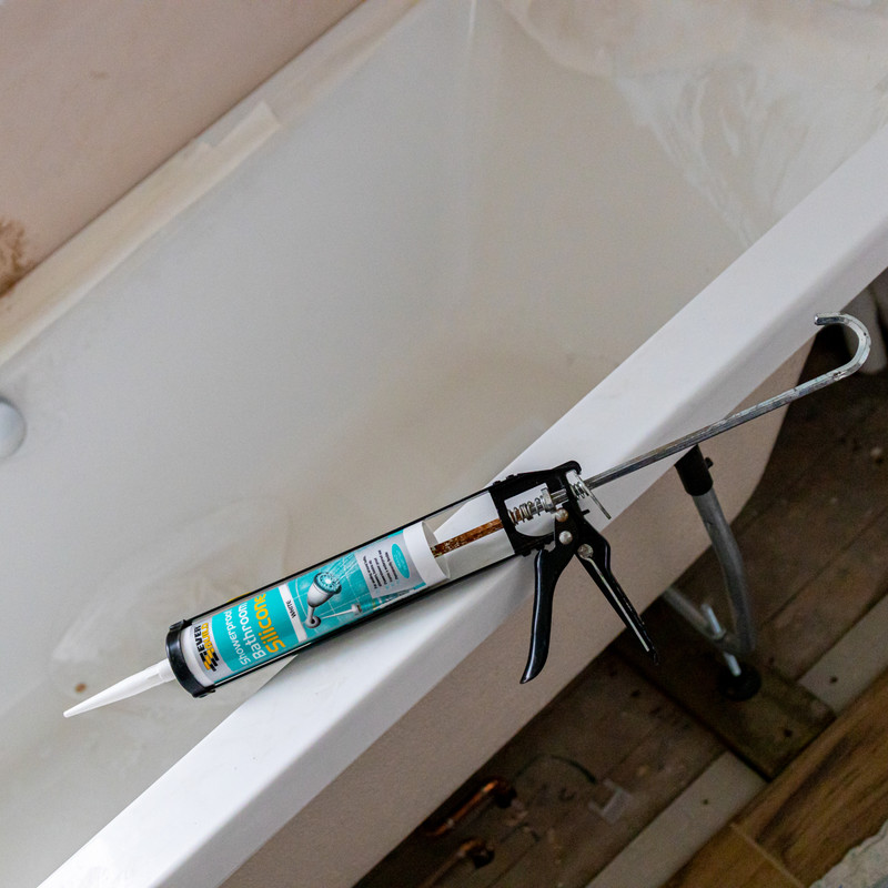 Showerproof Bathroom Silicone