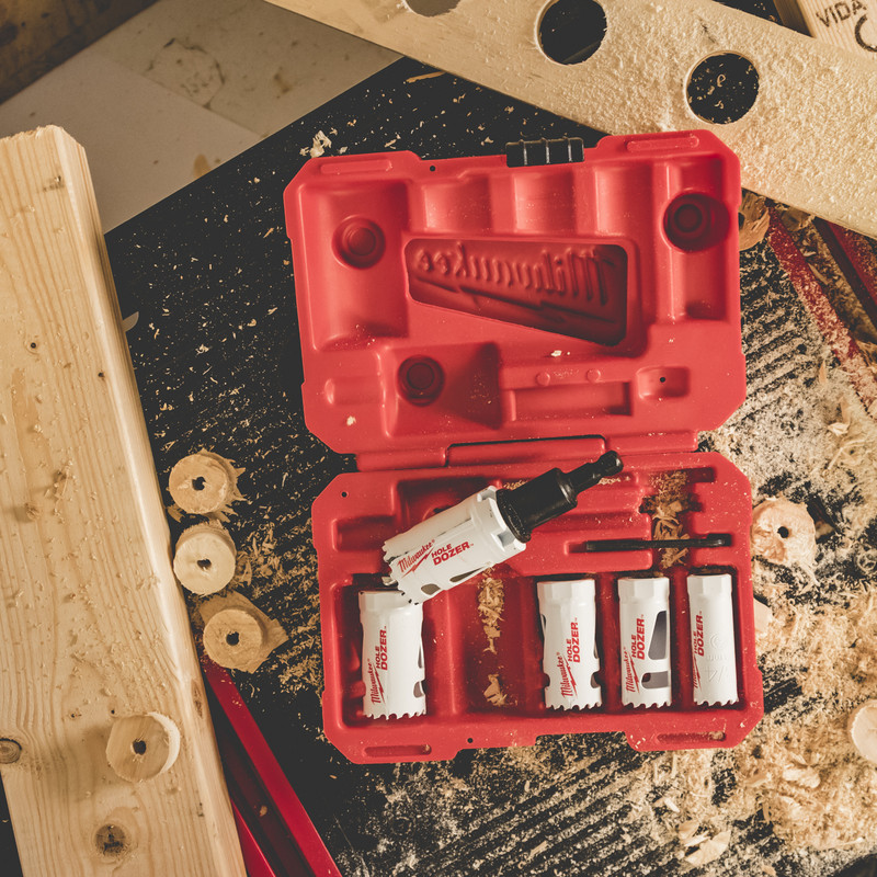 Milwaukee Hole Dozer Bi-Metal Holesaw Kit