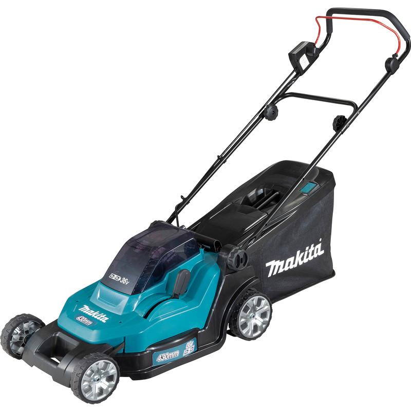 Makita 36V (2x18V) 43cm Cordless Lawnmower
