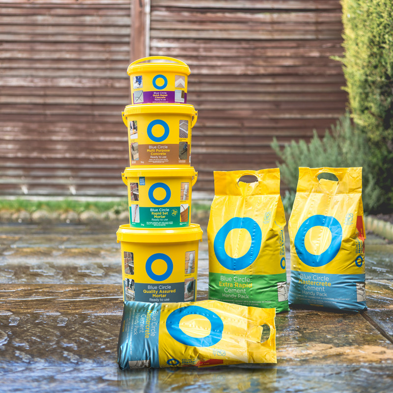 Blue Circle Rapid Set Mortar Mix 5kg