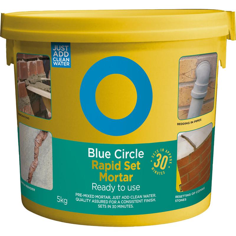 Blue Circle Rapid Set Mortar Mix