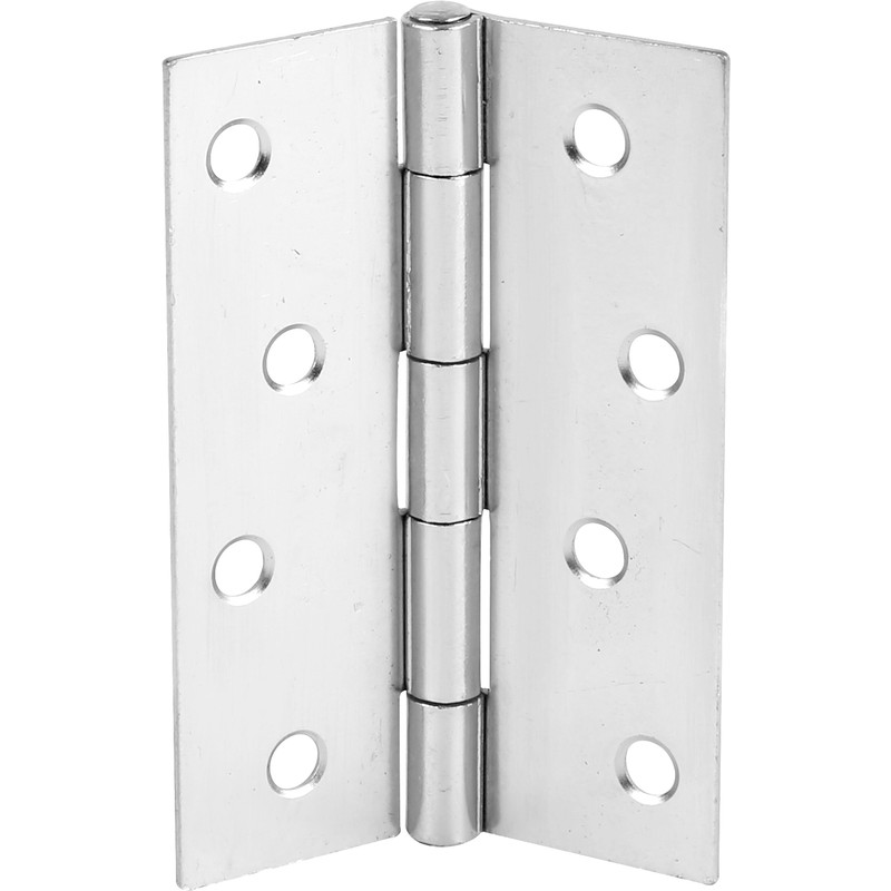 Chrome Plated Butt Hinge 100mm