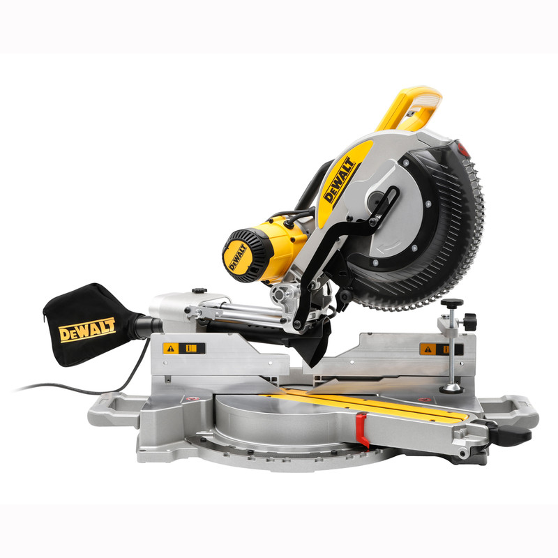 DeWalt 305mm Compound Slide Mitre Saw with XPS