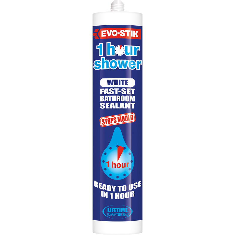 Evo-Stik Trade One Hour Sanitary Silicone 290ml