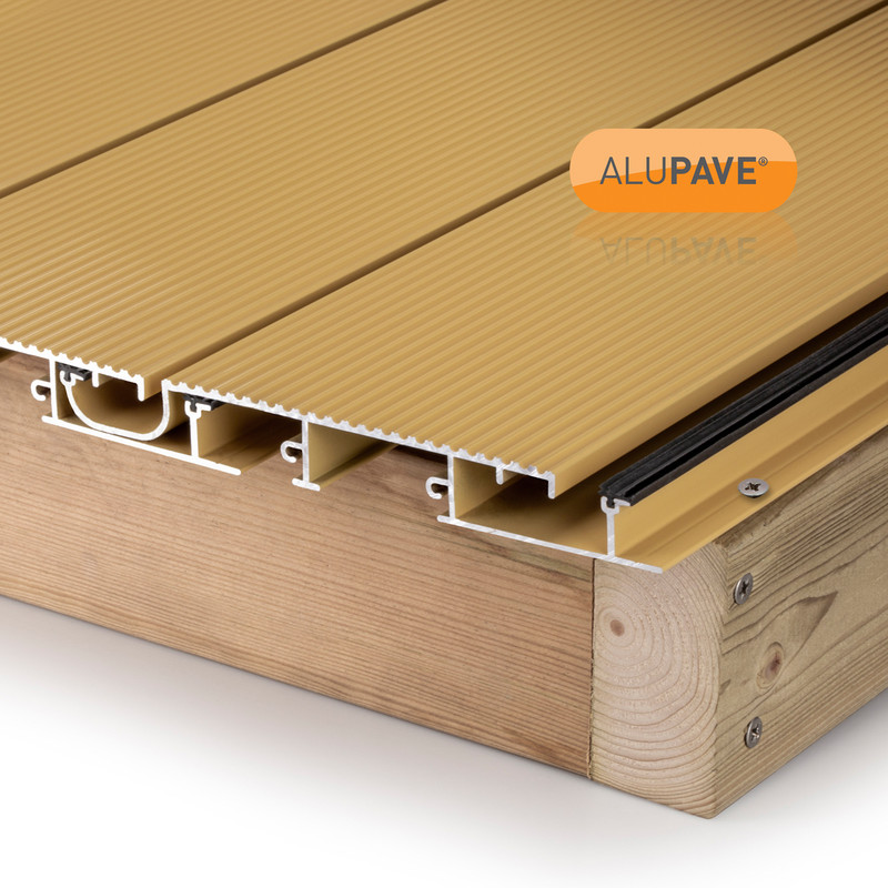 Alupave Fireproof Full-Seal Flat Roof & Decking Board