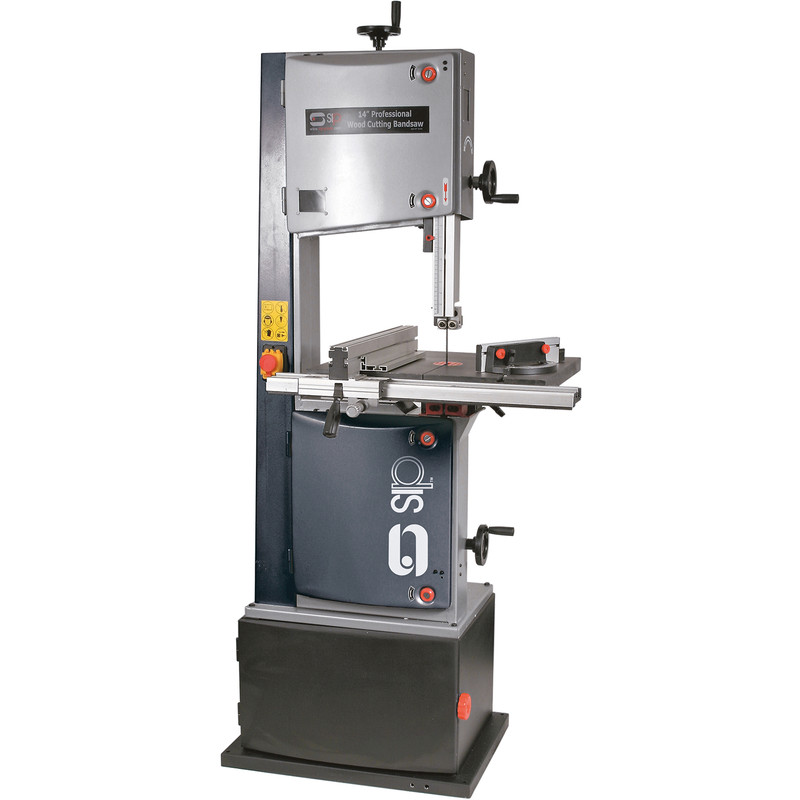 """SIP Professional 14"""" 1500W Bandsaw 2hp with Cabinet Stand"""
