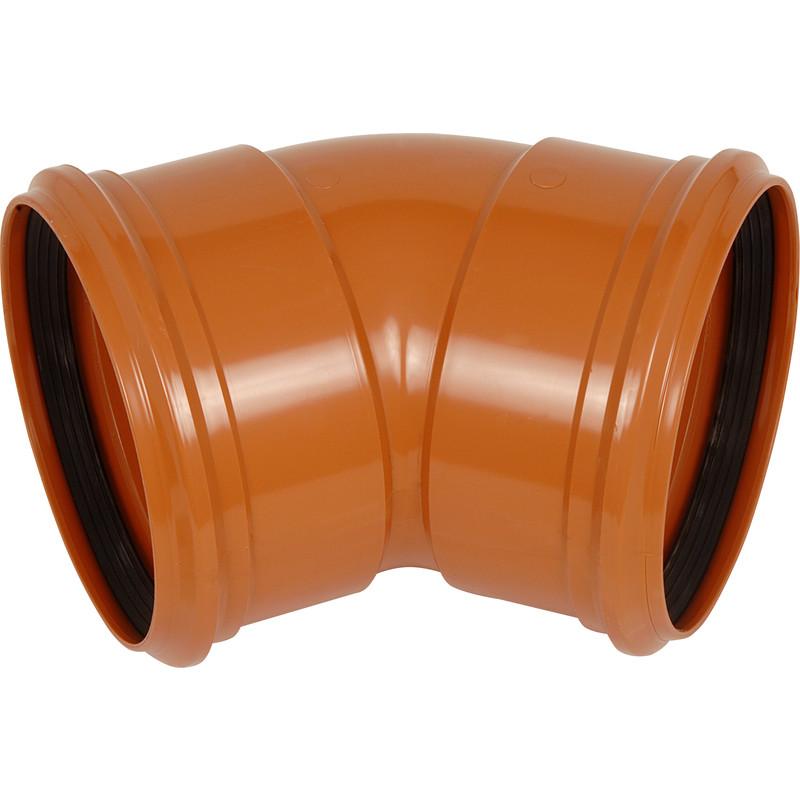 Double Socket Bend 160mm