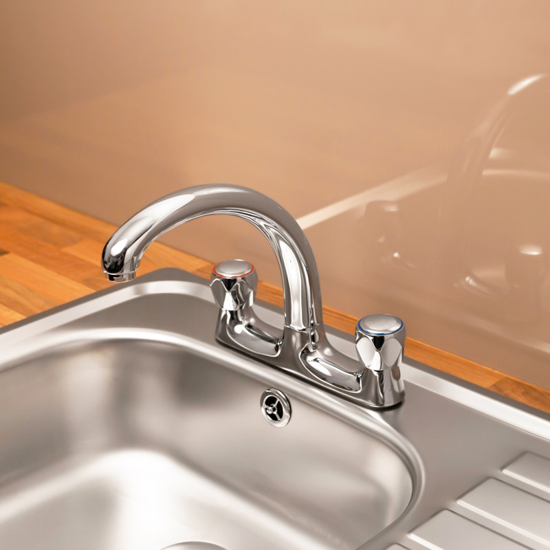 Ebb + Flo Contract Deck Mixer Kitchen Tap