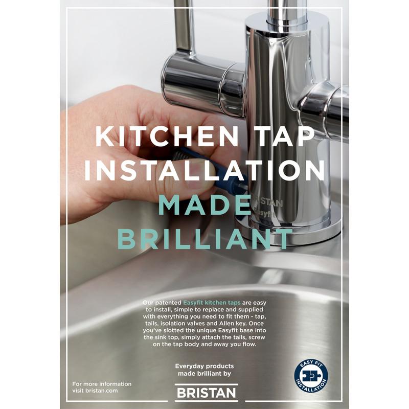 Bristan Kingsbury Mono Mixer Kitchen Tap