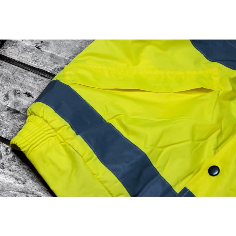 Hi Vis Bomber Jacket