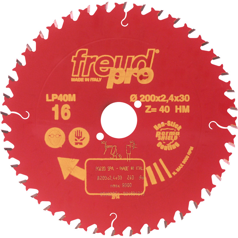 LP40M TCT Saw Blade for Cross Grain Cutting