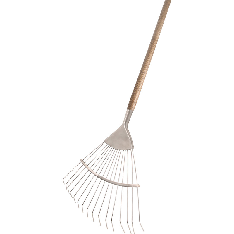 Smith & Ash Stainless Steel Lawn/Leaf Rake