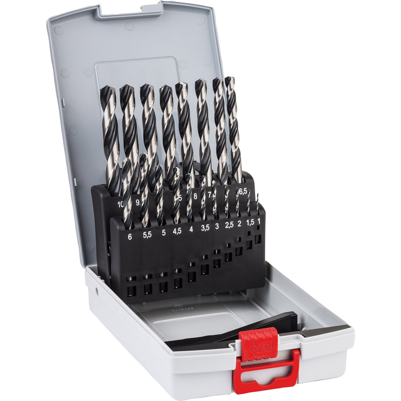 Bosch PointTec HSS Drill Bit Set