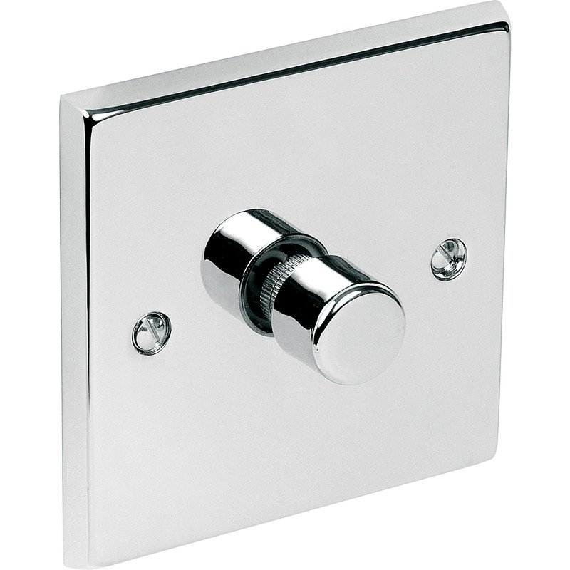 Chrome LED Dimmer Switch