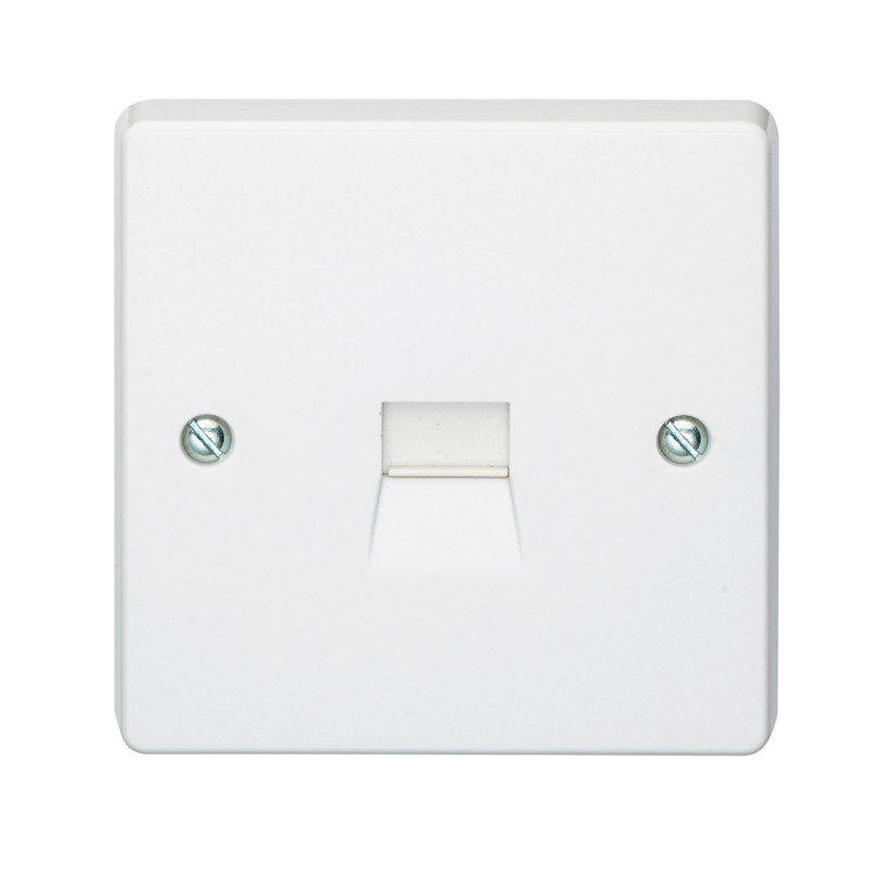 Crabtree Telephone Socket