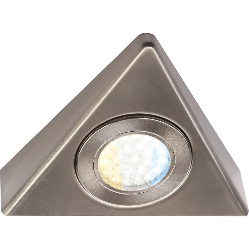 Faro 240V LED CCT Triangle Under Cupboard Light