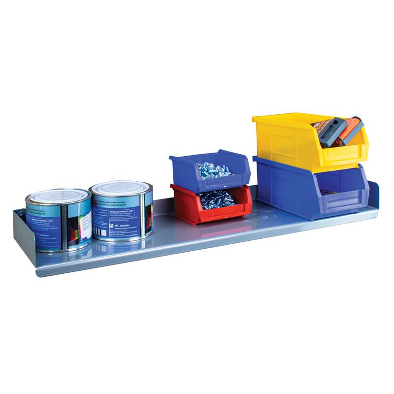 Wall Mounted Steel Shelf