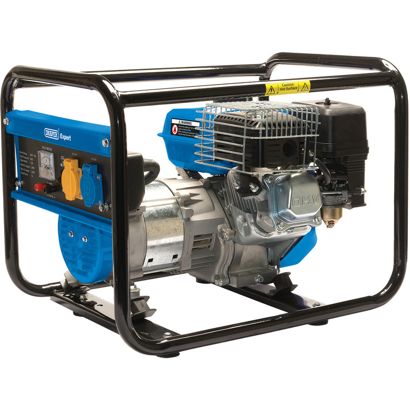 Draper 2.0KVA/2000W Petrol Generator