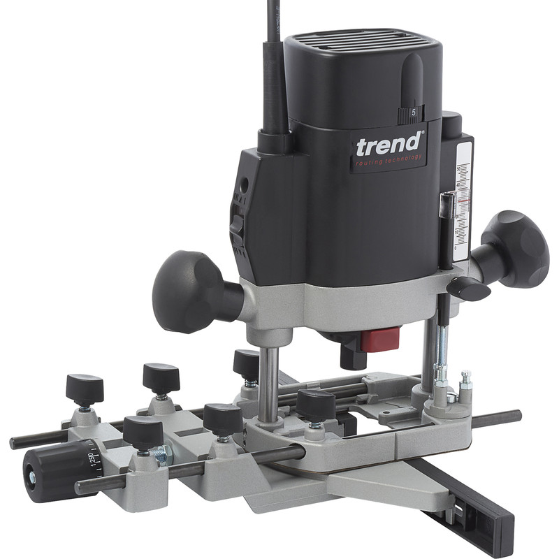 "Trend T5EB 1/4"" 1000W Variable Speed Router"