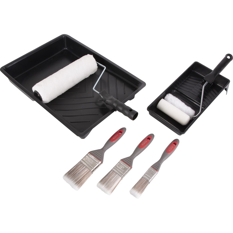 Kana Roller & Paintbrush Set