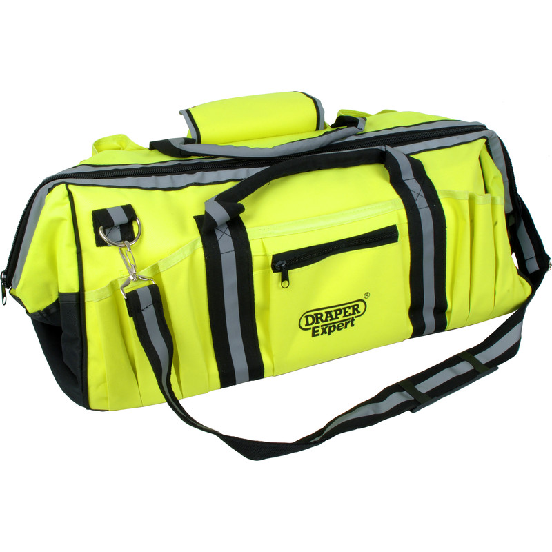 Draper Expert High-Vis Tool Bag