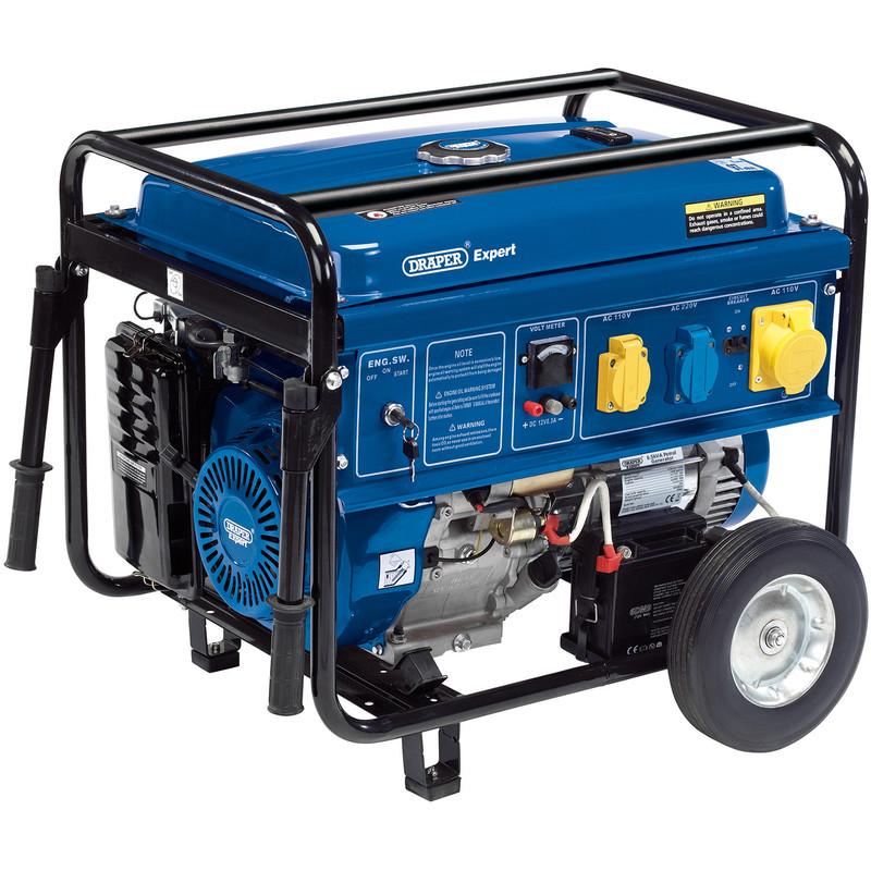 Draper 4.0KVA/3500W Petrol Generator