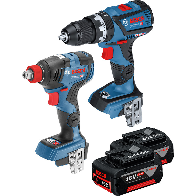 Bosch 18V Twin Pack Driver and Impact Wrench
