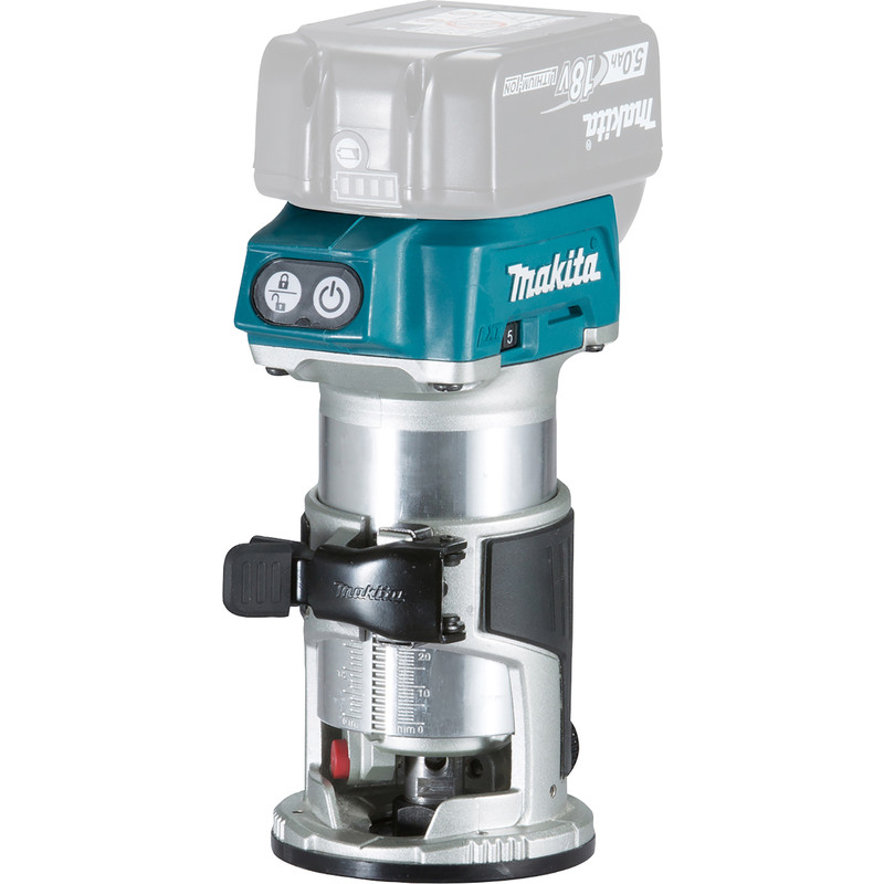 Makita DRT50ZJ 18V Cordless Router/Trimmer