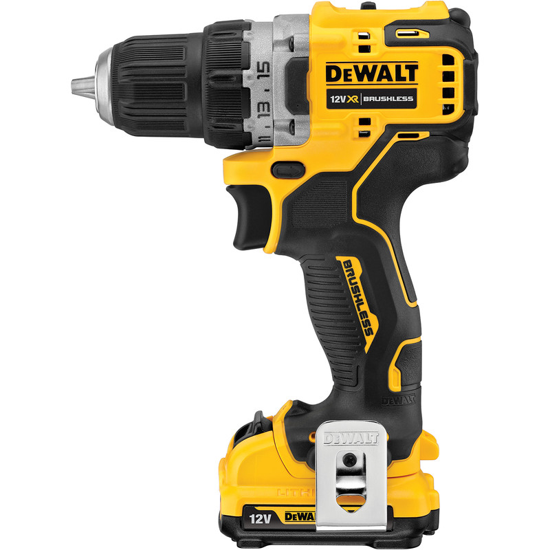 Dewalt DCD701D2-GB 12V XR Li-Ion Brushless Compact Drill Driver