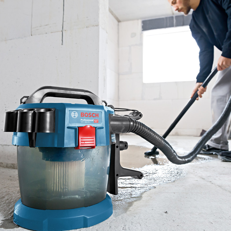 Bosch Professional Cordless 18V 10L Wet & Dry Vacuum Cleaner