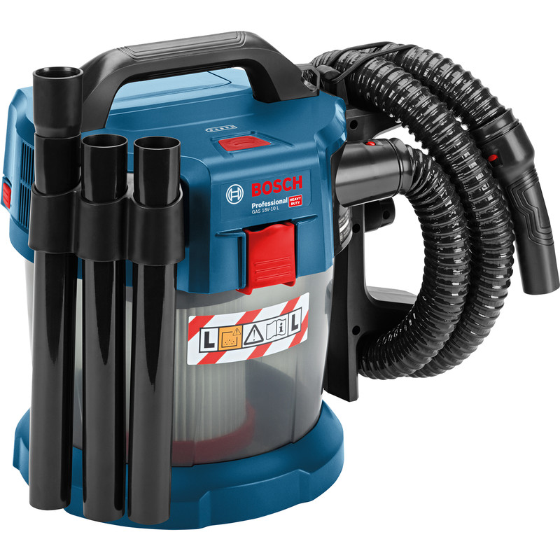 Bosch Professional Cordless 18v 10l Wet Amp Dry Vacuum