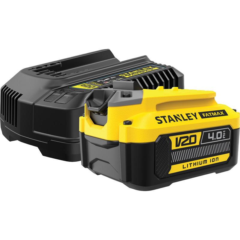 Stanley FatMax V20 18V 4.0Ah Battery & Charger Starter Kit