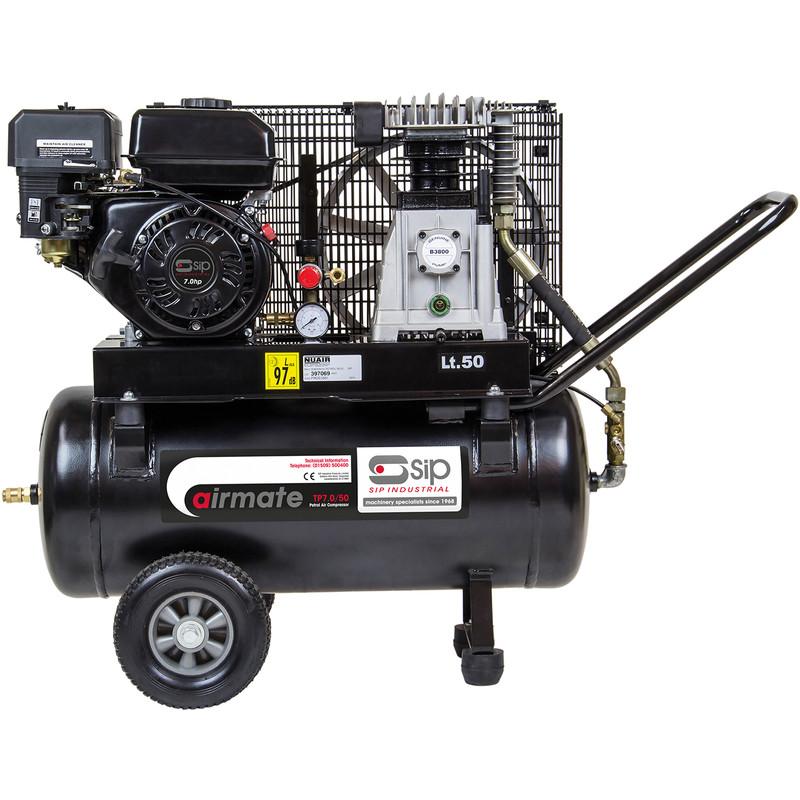 SIP 06217 Petrol 7HP 50L Compressor