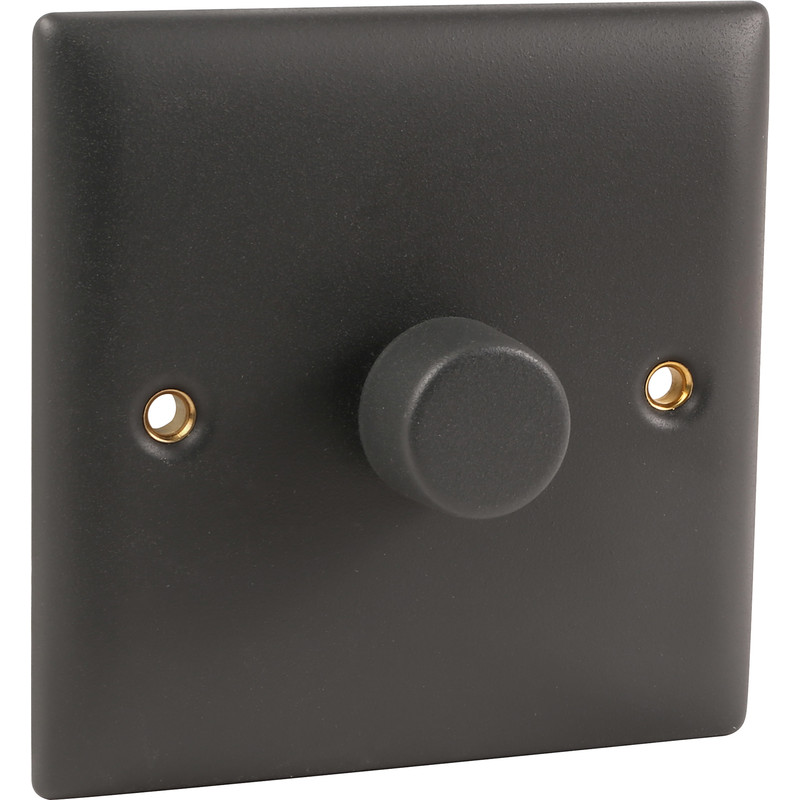 Power Pro Anthracite Dimmer Switch