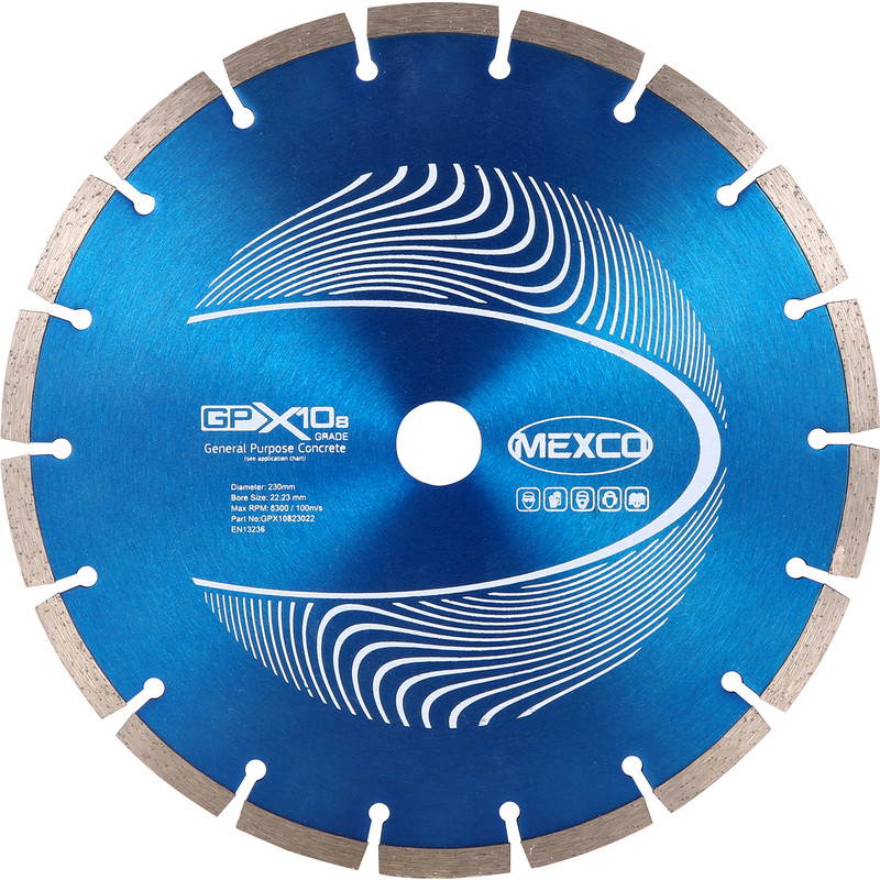 Mexco General Purpose GPX10-8 Diamond Blade