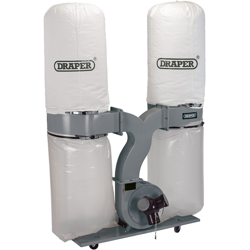 Draper 300L 2200W Portable Dust Extractor